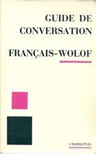 GUIDE DE CONVERSATION :  FRANCAIS-WOLOF