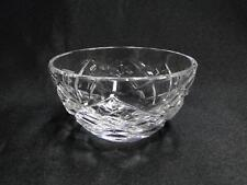 "Waterford Crystal, Cross Hatch: Mini Open Sugar Bowl,  3 1/8"" x 1 3/4"", Gift"