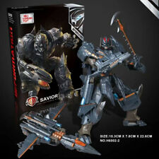 New Black Mamba Transformers Movie 5V Megatron M Aircraft Megatron Robot Stock