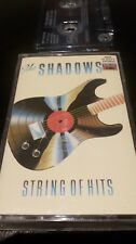THE SHADOWS - STRING OF HITS - CASSETTE TAPE ALBUM