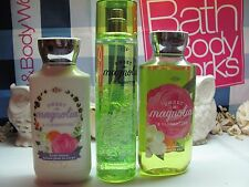Bath and Body Works 3 ~ Sweet Magnolia & Clementines~  Mist , Lotion  & Gel