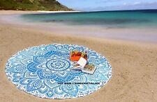 Bohemio playa mandala ronda tiro hippie tapicería indio estera de yoga redondeo