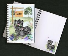 Skye Terrier Dog Notebook/Notepad + small image on each page by Starprint