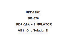 CISCO BEST EXAM PRACTICE MATERIAL 300-170 QA PDF&Simulator