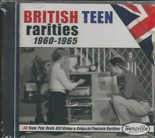 British Teen Rarities CD  1960-1965   Brand New  30 Great Tracks
