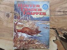 1927 Hunter Trader Trapper Magazine Remington Harley Davidson Rifle Fur Trap Ads