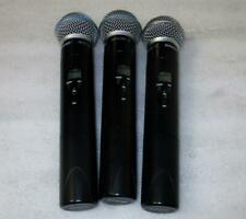 *Lot Of 3* Shure ULX2-G3 Beta 58A Wireless Handheld Microphone 470-506MHz