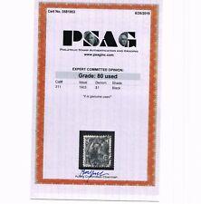 VERY AFFORDABLE GENUINE SCOTT #311 USED 1903 FARRAGUT PSAG CERT GRADED VF 80