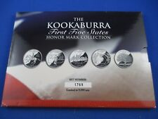 1999 THE KOOKABURRA FIRST FIVE STATES  - HONOR MARK COLLECTION -