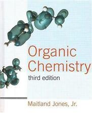 Organic Chemistry by Maitland Jones Jr., 3rd Edition (Hardcover) + Manual