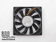 X8 80mm 8CM 8015 4-Pin 1000-3000 RPM 0.2A PWM Computer case fan Free Ship!