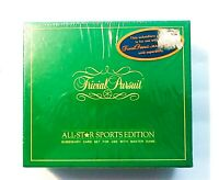 Vintage 1980's Trivial Pursuit Game All Star Sports Edition new