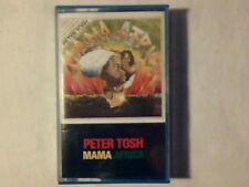 PETER TOSH Mama Africa mc cassette k7 ITALY RARISSIMA COME NUOVA RARE LIKE NEW!!