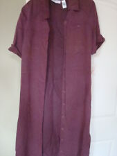 NWT LIZ CLAIBORNE FULL LENGTH WINE DRESS SIZE 14 $49.99 FREE S&H W/BUY IT NOW
