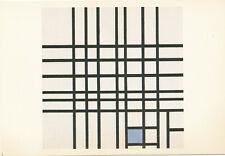 Composition Netherlands Paint By Piet Mondrian 1983 Canada Vintage Art Postcard