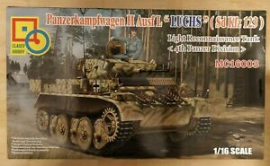 Classy Hobby 1/16th Scale PanzerII LUCHS Ausf L (SDKFZ123) complete with extras