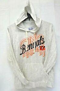 Cincinnati Bengals Women's L Touch By Alyssa Milano Pre Game Pullover Sweater