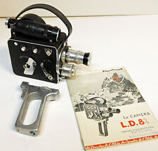 CAMERA LD8 - P.LEVEQUE - Modèle 1123/3 - 8 mm - 1955/60 - N°9027 - COLLECTOR