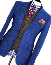 Nouveau Homme HOLLAND Esquire Bespoke Harris Tweed Shooting Suit Veste Blazer 42R