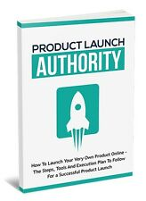 How To Launch Your Very Own Product Online- eBook and Bonuses on 1 CD
