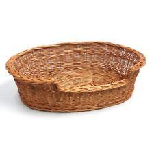 Prestige Wicker Dog Bed Basket, 85 cm, Large