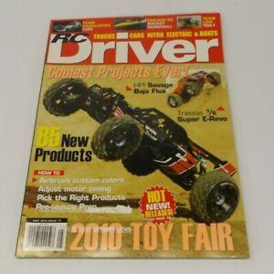 RC Driver May 2010 HPI Savage Baja Flux, Traxxas 1/6 Super E-Revo, Engage RC