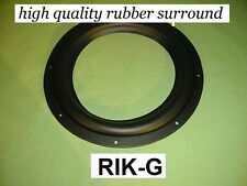 "12 "" High Quality speaker rubber surround Reparatur Gummisicke RIK G"