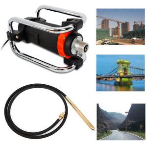 1100W Electric Concrete Vibrator Handheld Vibrator Leveling&Removing Bubbles