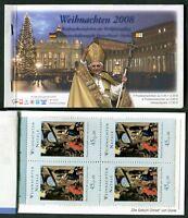 Seltenes Bund Vatikan Markenheftchen MH Viererblöcke postfrisch VB Booklet MNH