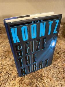 Seize the Night - By Dean Koontz  SIGNED  1st/1st  NF/VG HC/DJ