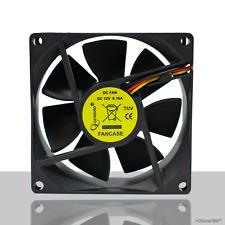 Gembird PC Silent Case Fan / 80mm / 8cm Quiet Computer Fan / Sleeve Bearing