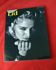Madonna Very Rare Lid Fall Winter 2009 Celebrity Fashion Magazine NEW