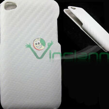Custodia pelle TRAMA BIANCA per Apple iPod Touch 4 4g sottile aderente slim fit