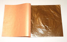 Gold Leaf 500 Sheets  - 14cm  x 14cm - For Gilding, Plaster Work, Art Projects
