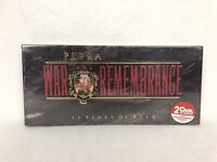 Petra War And Remembrance (15 Years Of Rock) Cassette Tape Set New Sealed