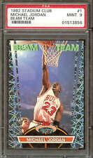 1992 Stadium Club Beam Team #1 Michael Jordan PSA 9 05153856