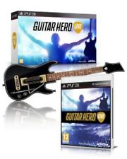 NEW Sony PS3 Guitar Hero Live Wireless GUITAR & GAME Single Bundle Set Kit