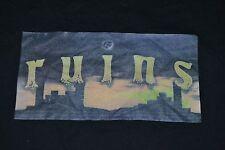 Ruins 2010 Legends Of Kalamazoo MI Drum & Bugle Corps Tour T Shirt XL Nice WMU