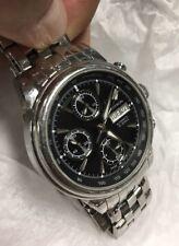 Accutron by Bulova Gemini Automatic Valjoux 7750 Blk Dial Watch 25 Jewels