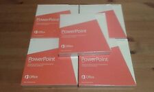 Microsoft Power Point Non Commercial 2013 DVD x 5 pcs