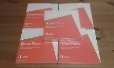 Microsoft Power Point Non Commercial 2013 DVD x 5 pcs