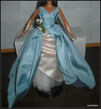 DRESS BARBIE MATTEL DOLL GRAND ENTRANCE BLUE BLUSH PINK GOWN DRESS CLOTHING ITEM