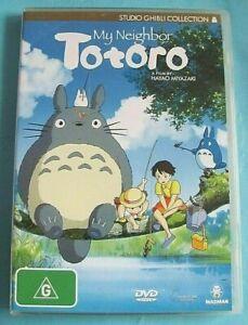 MY NEIGHBOR TOTORO DVD Anime Region 4 see below