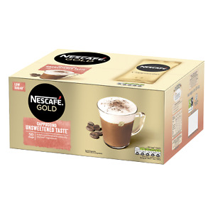 Nescafe Cappuccino Gold Unsweetened Taste 50 One Cup [ 50 Sachets ]