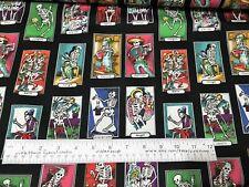 CARTAS DE VIDA Fabric Folklorico Alexander Henry Mexican Folk Art Day of Dead