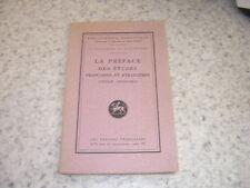 1923.préface Emile Deschamps.autographe Henri Girard.romantisme
