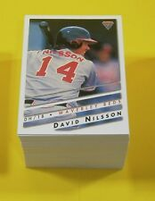 1995 Futera ABL Australian Baseball complete base set 110 cards - mint