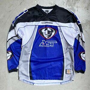Vintage 2002 Thor Racing AST Jeremy McGrath Motocross Jersey Medium - Reed Fox