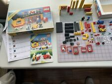 LEGO TOWN - MOTORCYCLE SHOP -- # 6373 -1984 - original box and instructions