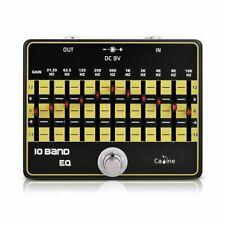 Caline CP-24 10 Band EQ Electric Guitar Effects Pedal True Bypass Equalizer M9P4